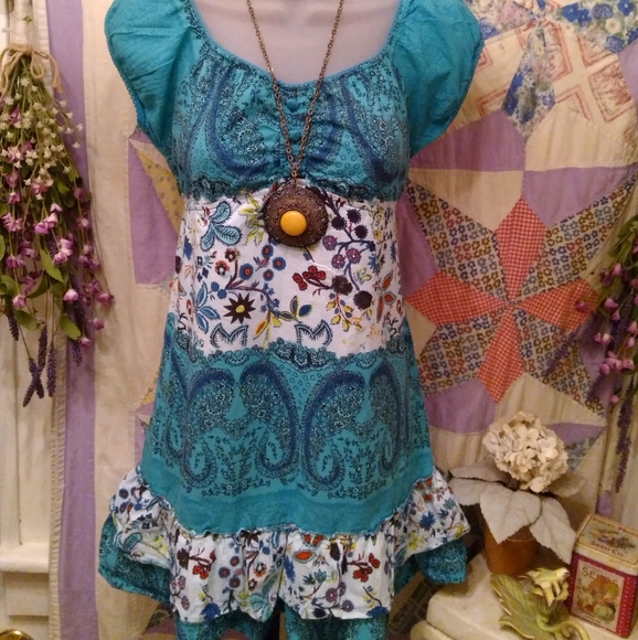 She's Cool Bohemian Baby doll tunic
